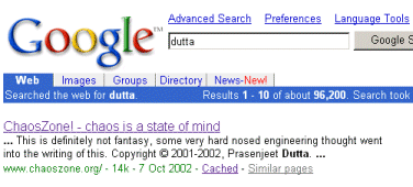 search results for `dutta'
